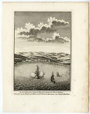 FUNCHAL-MADEIRA-ROADSTEAD-SHIPS-Jakob VAN DER SCHLEY-PREVOST-1747