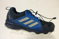 ADIDAS Terrex Blue Sz 10.5 M Men Gore-Tex GTX Waterproof Hiking Shoes