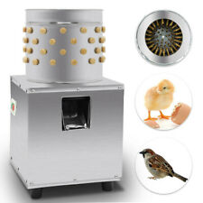 Used De Feather Small Chicken Plucker Plucking Poultry Duck Machine Stainless
