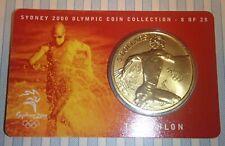 2000 Australia $5.00. Sydney Olympic Coin. Triathlon. below cost