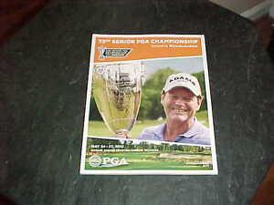 2012 Senior PGA Championship Golf Program Roger Chapman Winner Tom Watson Cover