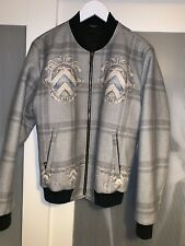 Dolce and Gabbana men bomber jacket wool mix size 48  100% genuine rare article