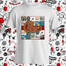 New Chicago Rock Band Logo Cover Men's White T-Shirt Size S-3XL