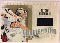 2006-07 ITGU International Ice Goaltending Glory Gold Jersey Antero Niittymaki