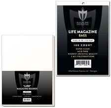 500 Max Pro Ultra Clear Life Magazine Bags and Boards - Acid Free