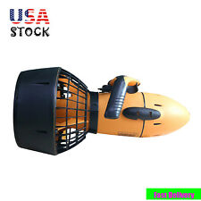 Diving Sea Scooter Waterproof Pro Electric Dual Speed Safety Prop 6km/h 300W Usa