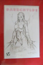 9.8 NM/M MINT Darkchylde Redemption 1/2 Nude Sketch GERMAN EURO Variant Lim 99