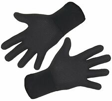 Titanium 3mm wetsuit gloves Stretchy neoprene warm! all sizes available S M L XL