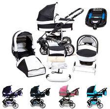 ★★★ Kinderwagen Sportwagen Buggy Twing Luft Babyschale Autobase + Isofix-System