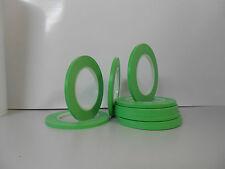 1 Rolle Konturenband Linierband Zierlinienabdeckung Designtape 6mm x 55m grün