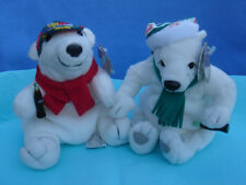 Coca cola 1998 & 1999 Beanie babies Bears collection