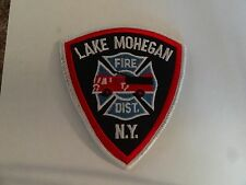PATCH FIRE RESCUE MEDICAL LAKE HOHEGAN FIRE DISTRICT NEW YORK