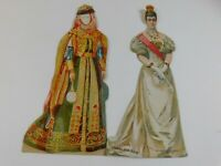 Czarina of Russia - McLaughlin's XXXX Coffee advertising paper doll historical