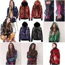 Cotton Zip Neck Regular Size Hoodies & Sweats for Women