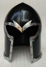 Medieval Armor Barbuta Helmet Knights Templar Crusader Armour Helmet SCA