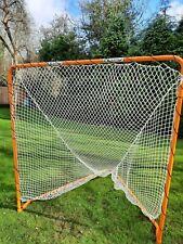 Foldable Metal Lacrosse Goal – 6ft x 6ft Regulation Lacrosse Goal & Net