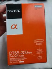 SONY ALPHA  A MOUNT DT  55-200MM  F4.5-5.6 SAM  NEW IN OPEN BOX