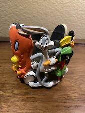 Euc '95 Warner Bros Votive Candle Holder Marvin Martian Bugs Bunny Gossamer Taz