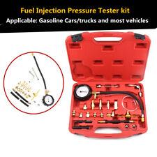 Petrol Diesel Fuel Pressure Gauge Tester Injection Pump Diagnostic Tool 140PSI