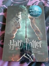 Harry Potter Deathly Hallows Part 2 Two bluray steelbook, G1 - Mexico, Mexican