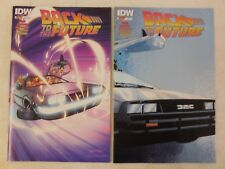 2x BACK TO THE FUTURE # 2 Comic VARIANT A & B Cover ~1st PRINT ~ IDW UNREAD NM