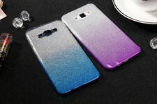 For Samsung Galaxy S8 S9 S7 Edge J6 Plus 2018 Cover Soft Glitter Gradient Case