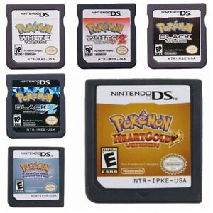 Pokemon Black White Pokémon Heartgold Soulsilver Diamond Pearl Platinum 3DS NDSi