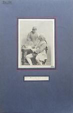 Marie Renard und Ernst van Dyck - alter Druck ca. 1920-30 Porträt