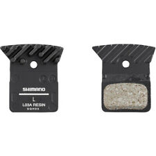 Shimano  L03A disc brake pads, alloy backed cooling fins, resin L02A