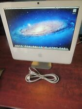 Apple iMac 17 Core 2 Duo 1.83GHz All-in-One Computer 2GB camera, wifi
