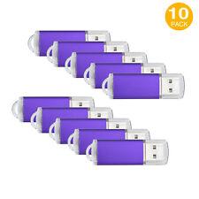 10pcs 8GB Swivel USB Flash Drives Thumb Memory Stick Folding Pen Drive Storage