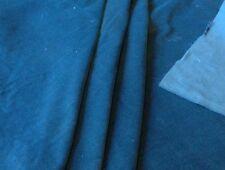 Light Weight Teal  Velvet / Velveten Fabric - 100% Cotton - 142 cms Wide