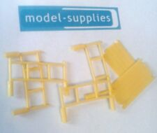 Matchbox reproduction 11D Mercedes yellow plastic scaffold set