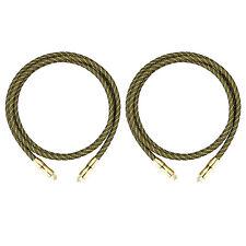 2X 6ft Premium Toslink Fiber Optic Digital Audio Optical Cable S/PDIF Cord Wire