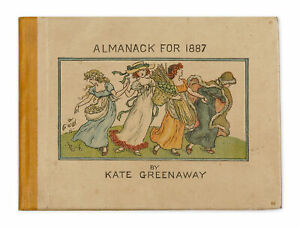 Kate Greenaway Almanack for 1887. 1887