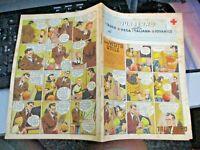 quaderno C.R.I. GIOV. fumetti UNA VISITA UTILE originale anni 50 ill. ZAMPERONI