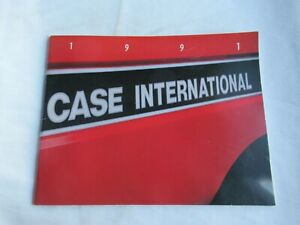 1991 Case International buyers guide catalog brochure tractor cotton combine