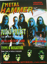 METAL HAMMER 7 1996 Judas Priest Type O Negative Kreator Motörhead Iced Earth