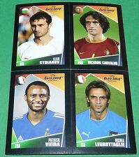 N°153 8 80 177 STOIANOV CARVALHO VIEIRA PANINI FOOTBALL EURO 2004 POCKET