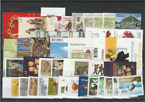 Slowenien Slovenia Slovenie 2015 year set + charity, all stamps, MNH