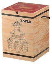 KAPLA Holzbaukasten - 280 Stück (6801) - rotes Kunstbuch