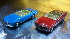 * Herpa 452120 MB 230 SL 2 Car Pack 1 x Blue & 1 x Red 1:87 HO Scale
