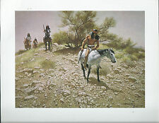 "Frank McCarthy,  ""The Trackers"" Native Americans - Western - Art Print---"