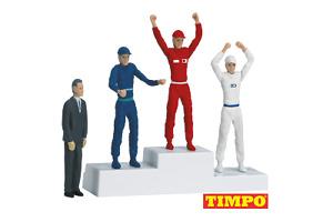 Carrera Victors Podium with Set of 4 Figures