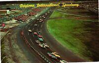 Vintage Postcard  - Helicopter View Daytona Speedway Florida FL Posted #1060