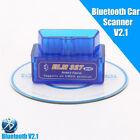 Mini Elm327 Bluetooth V2.1 Obd2 Auto Diagnostic Tool Scanner Android Torque