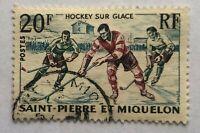 Timbres - Saint Pierre et Miquelon - Yvert et Tellier N°360 - Oblitéré