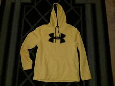 Under Armour Yellow Storm Hoodie - Mens Large - NWOT
