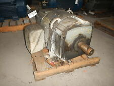 60 HP General Electric DC Electric Motor 1800 RPM Fr 365AY DPFVBB 500 V EOK