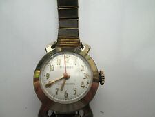 VINTAGE LADIES GOLD PLATED BENRUS,SHOCK ABSORBER MECHANICAL